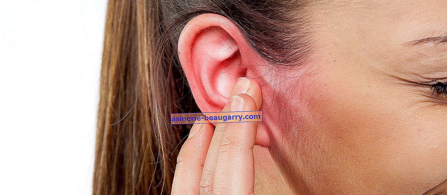 Causes et traitement de l'inflammation de l'oreille externe
