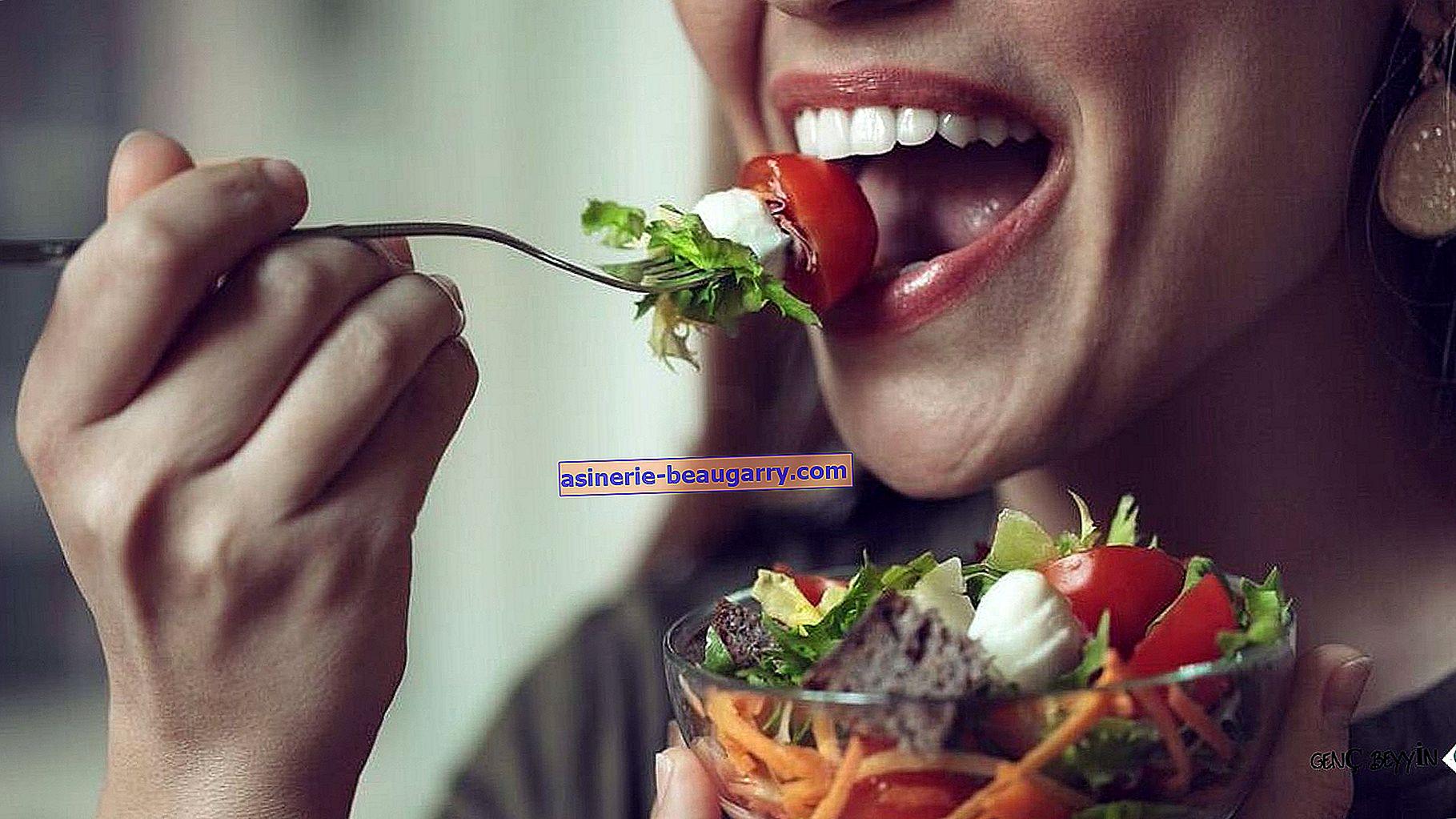 Начинът на хранене е също толкова важен, колкото и това, което ядете при лошо храносмилане